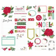 Simple Stories Journal Bits Die-Cuts 30/Pkg - Holly Days