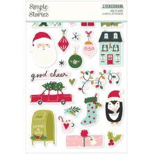 Simple Stories Sticker Book 4X6 12/Pkg - Holly Days
