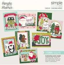 Simple Stories Simple Cards Kit - Holly Days Christmas Wishes