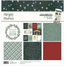 Simple Stories Collection Kit 12X12 - Oh, Holy Night