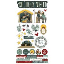 Simple Stories Sticker Sheet 6X12 - Oh, Holy Night