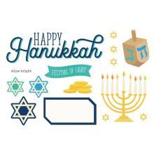 Simple Stories Simple Page Pieces - Happy Hanukkah