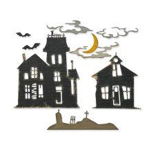 Tim Holtz Sizzix Thinlits Dies - Ghost Town #2
