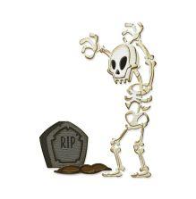 Tim Holtz Sizzix Thinlits Dies - Mr. Bones Colorize