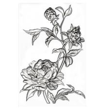 Tim Holtz Sizzix 3-D Texture Fades Embossing Folder - Mini Roses
