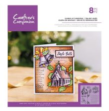 Crafters Companion Clear Acrylic Stamp - Church at Christmas