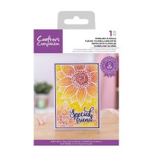 Crafters Companion Photopolymer Stamp - Swirling Florals