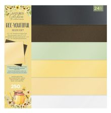 Natures Garden Luxury Pearlescent Card Pad 12X12 - Bee-Youtiful