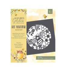 Natures Garden Bee-Youtiful Collection Metal Die - Bumbling in the Flowers