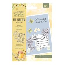 Natures Garden Bee-Youtiful Collection Stamp & Die- Bee Hive