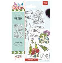 Natures Garden Garden Gnomes Stamp - Gnome Village