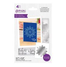 Gemini Stamp & Die - Icy Snowflake