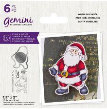 Gemini Stamp & Die - Wobbling Santa