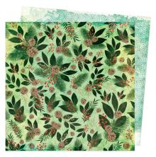 Vicki Boutin Warm Wishes Double-Sided Cardstock - Evergreen