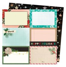 Vicki Boutin Warm Wishes Double-Sided Cardstock - Happy Holidays