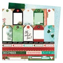 Vicki Boutin Warm Wishes Double-Sided Cardstock - Oh What Fun