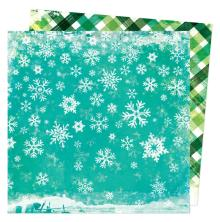 Vicki Boutin Warm Wishes Double-Sided Cardstock - Snow Day