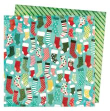 Vicki Boutin Warm Wishes Double-Sided Cardstock - Stockings