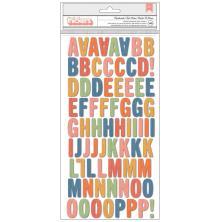 Paige Evans Bungalow Lane Thickers Stickers - Handmade Alphabet