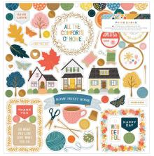 Paige Evans Chipboard Stickers 12X12 - Bungalow Lane