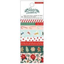 Crate Paper Washi Tape 8/Pkg - Busy Sidewalks