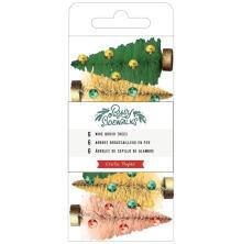 Crate Paper Bottle Brush Trees 6/Pkg - Busy Sidewalks