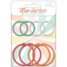 American Crafts Obed Marshall Colored O-Rings 8/Pkg - Fantastico