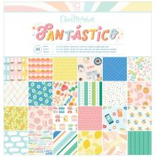 American Crafts Obed Marshall Single-Sided Paper Pad 12X12 - Fantastico