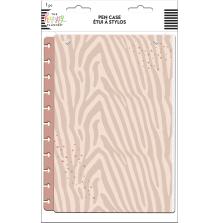 Me & My Big Ideas BIG Snap In Pen Pouch - Neutral Zebra
