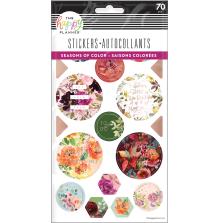 Me & My Big Ideas Stickers 5 Sheets - Seasonal Watercolor