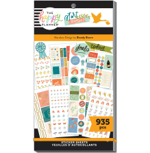 Me & My Big Ideas Happy Planner Stickers Value Pack - Life Is Sweet Marabou Desi