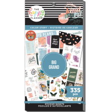 Me & My Big Ideas Happy Planner Stickers Value Pack - BIG Color Story 335
