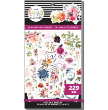 Me & My Big Ideas Happy Planner Stickers Value Pack - Seasons of Color 229