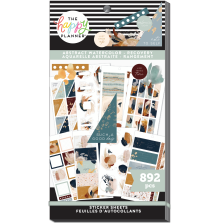 Me & My Big Ideas Happy Planner Stickers Value Pack - Abstract Watercolor 892