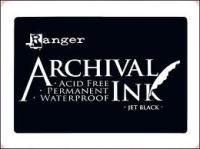 Ranger Ink Archival Inkpad - Jet Black