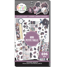 Me & My Big Ideas Happy Planner Stickers Value Pack - MINI Let Love Grow 696