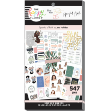 Me & My Big Ideas Happy Planner Stickers Value Pack - Spoonful of Faith 547