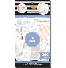 Me & My Big Ideas Happy Planner Stickers Value Pack - BIG Neutral Colors 399