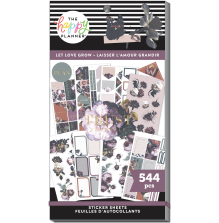 Me & My Big Ideas Happy Planner Stickers Value Pack - Let Love Grow 544