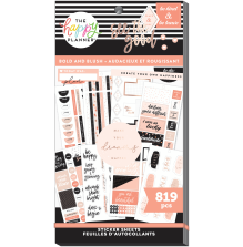 Me & My Big Ideas Happy Planner Stickers Value Pack - Bold & Blush 819