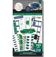 Me & My Big Ideas Happy Planner Stickers Value Pack - Hustle & Heart 737