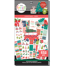 Me & My Big Ideas Happy Planner Stickers Value Pack - Christmas 532