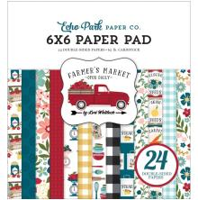 Echo Park Double-Sided Paper Pad 6X6 - Farmers Market