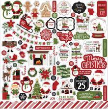 Echo Park Cardstock Stickers 12X12 - Christmas Magic