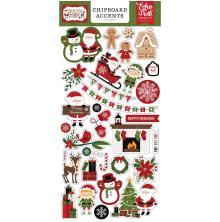 Echo Park Christmas Magic Chipboard 6X13 - Accents