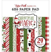 Echo Park Double-Sided Paper Pad 6X6 - Christmas Magic
