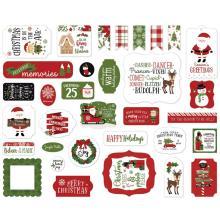 Echo Park Christmas Magic Cardstock Die-Cuts 33/Pkg - Ephemera