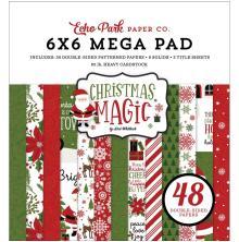 Echo Park Double-Sided Mega Paper Pad 6X6 - Christmas Magic