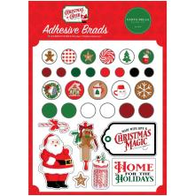 Carta Bella Decorative Brads - Christmas Cheer