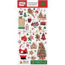 Carta Bella Christmas Cheer Chipboard 6X13 - Accents